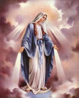 Virgen Maria para Roly Zarate