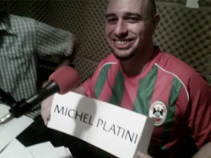 No es Trezeguet, es Jorge y el cartel de Platini