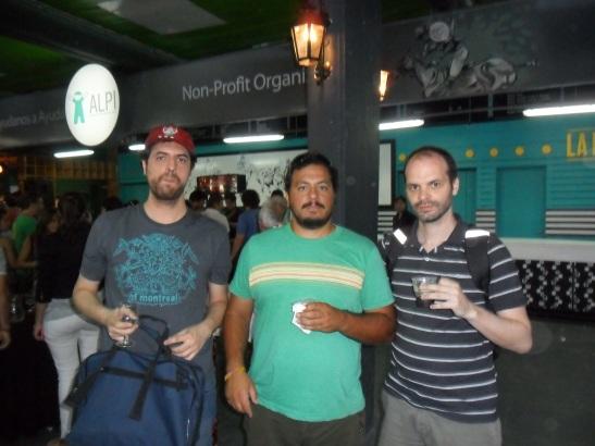 En la fiesta final nos encontramos con el raider de la Selección Argentina de kabaddi 2011, Leandro Del Gesso. Un lujo.