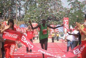 En 2011 la ganadora fue una promotora, que cruzó la línea final segundos antes que un keniata.