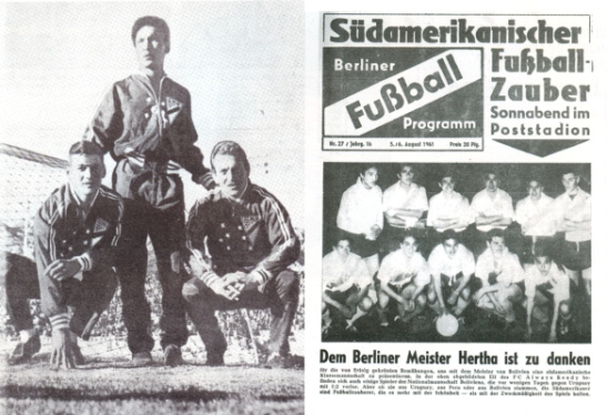 la gira del Always Ready en los diarios alemanes de época