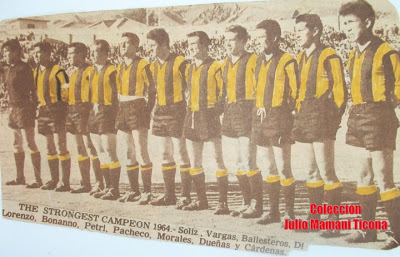 boliviano the strongest 1964