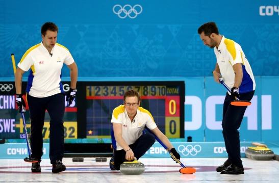curling suecia medalla de bronce
