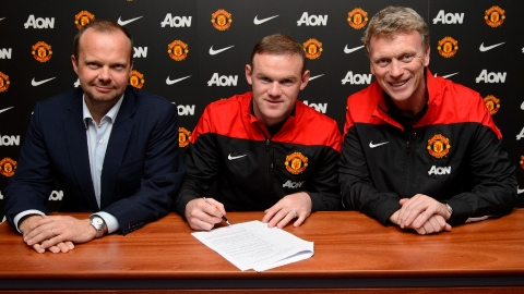rooney firma contrato hasta 2019 por 70 millones de libras