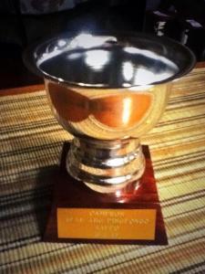 La copa del campeón