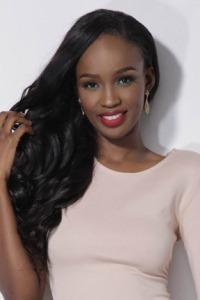 ZULEICA WILSON, de ANGOLA Con uno de los mejores nombres del certamen, la belleza africana se anota en nuestras favs