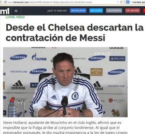Messi, un senior