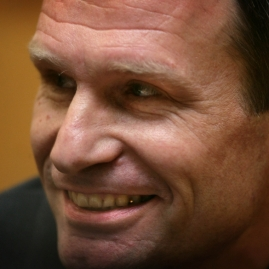 Armin Meiwes, el caníbal alemán. Jamás fue considerado como mascota, gracias a la intervención estatal.